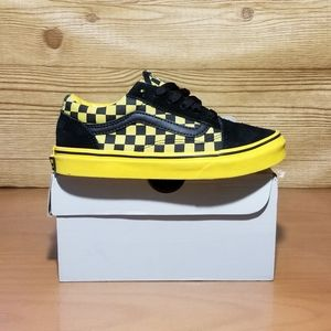 Vans Old Skool Checkerboard Shoes